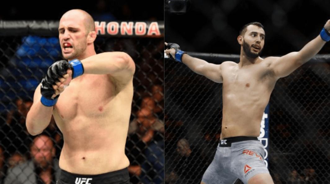 Volkan Oezdemir vs Dominick Reyes In The Works for UFC London
