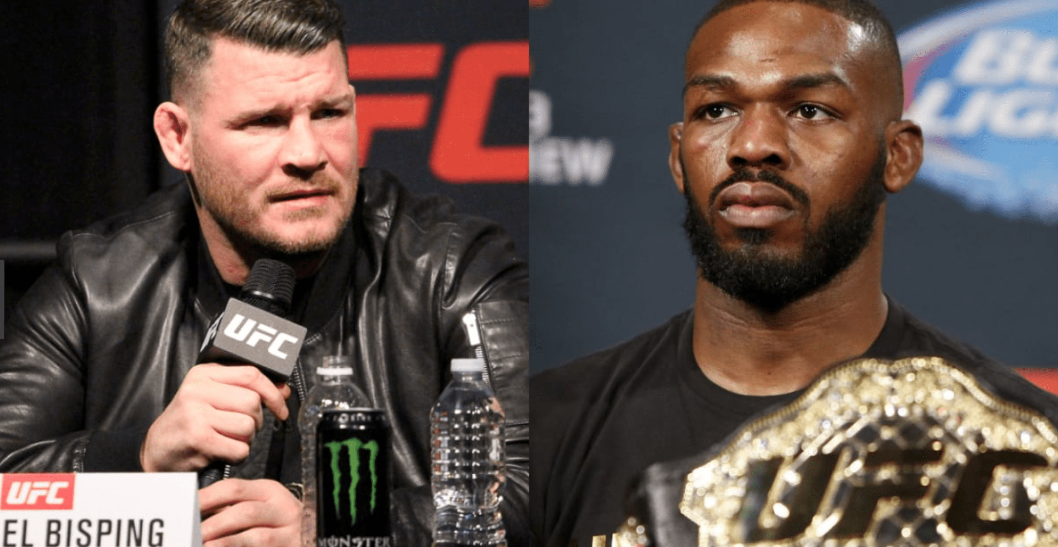 Michael Bisping Reveals Profane Exchange With Jon Jones At UFC 232