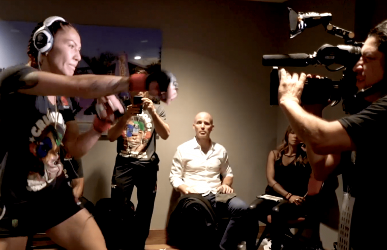 Go Behind The Scenes Of UFC 232 With Cris Cyborg