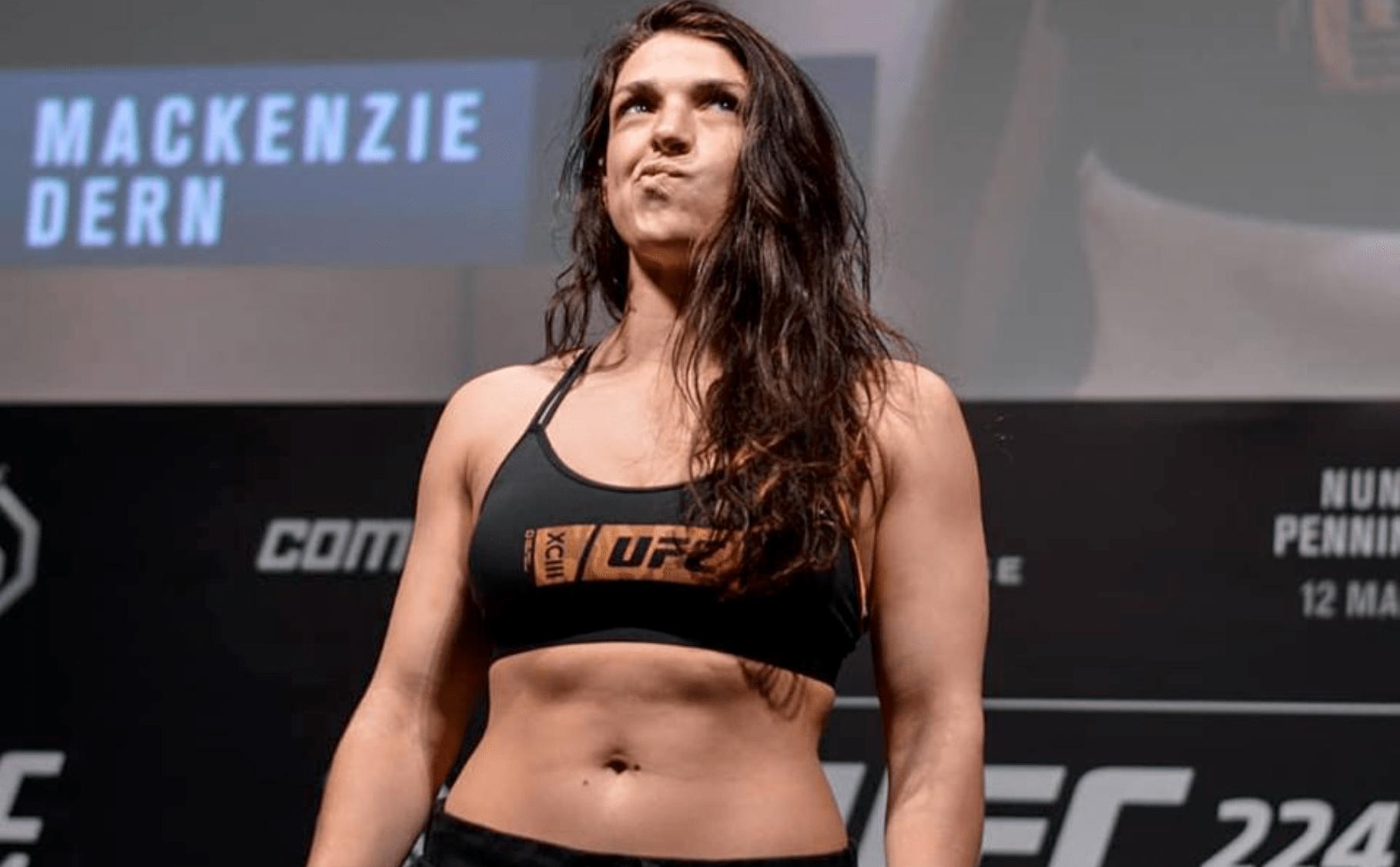 Mackenzie Dern Decides To Stay At Strawweight