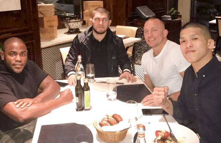 UFC: Georges St-Pierre Discusses 'Hypothetical' Superfight With Khabib