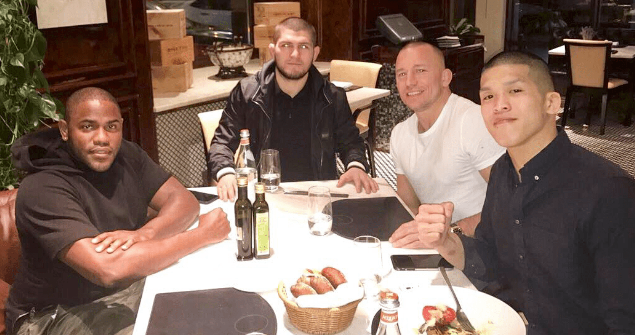 GSP Thinks A Fight Against Khabib Would Have Been Too Risky For UFC
