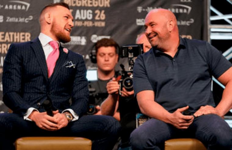 Dana White: UFC Doctor Says McGregor Is In Best Shape He's Ever Seen