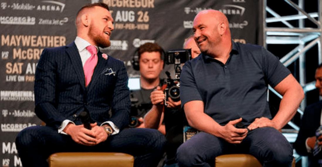 Dana White On McGregor: 'He'll Fight Anybody'