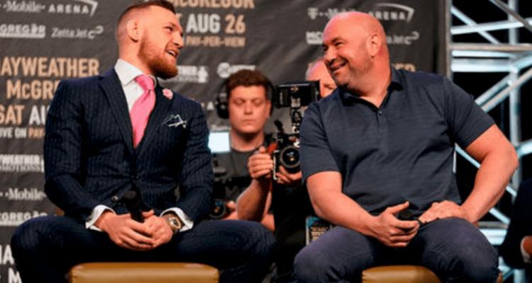 UFC Conor McGregor and Dana White