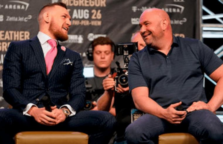 UFC: Dana White Reveals He's In Talks With Conor McGregor