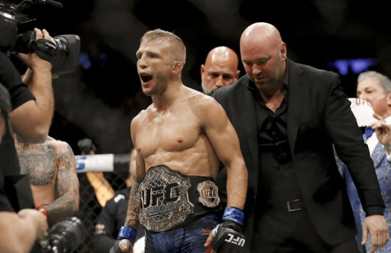 Monster Energy Parts Ways With TJ Dillashaw