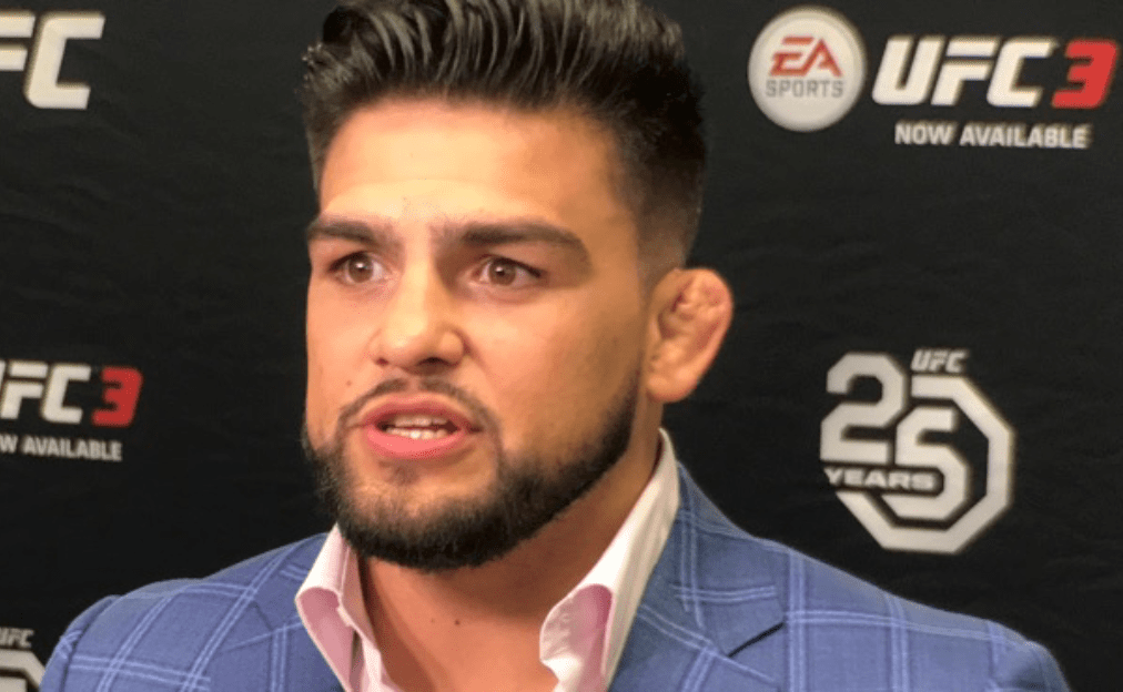 Breaking News: Kelvin Gastelum Announces He's The New UFC Middleweight Champion