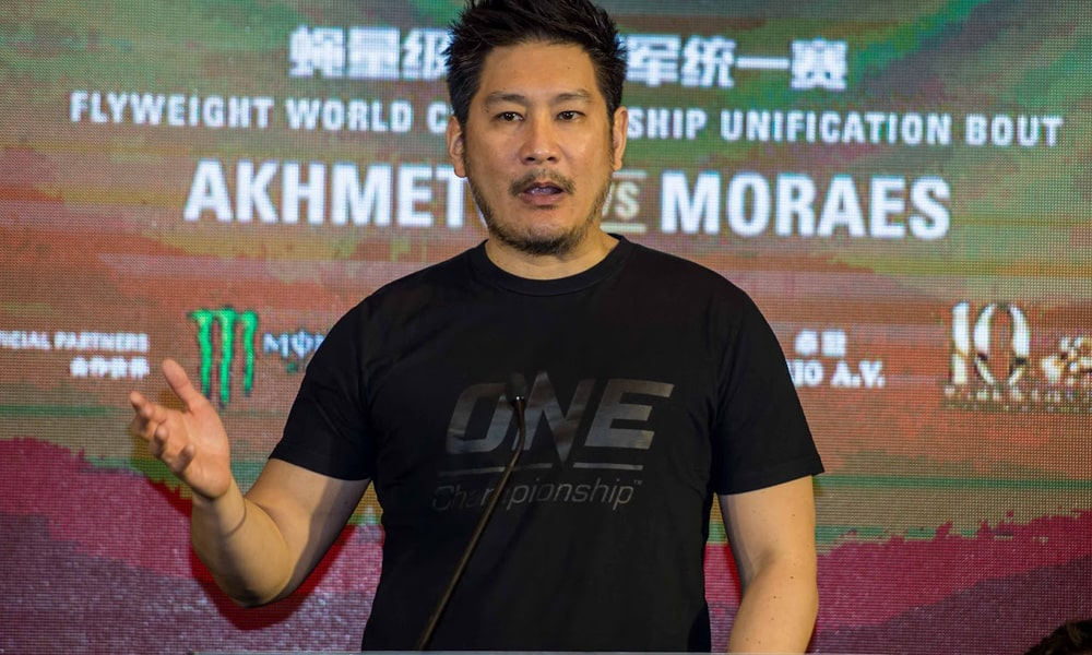 ONE CEO Chatri Sityodtong, Apologises For 'Boring' Clash Of Legends