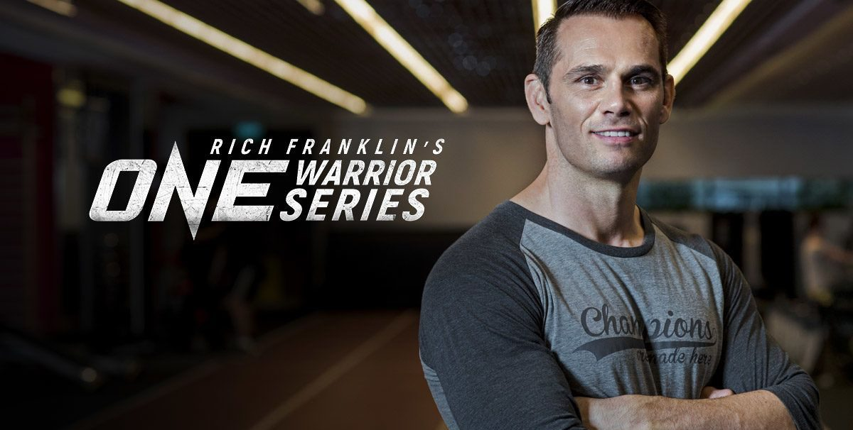 Rich Franklin Expects A Busy Year Of Recruiting On ONE Warrior Series