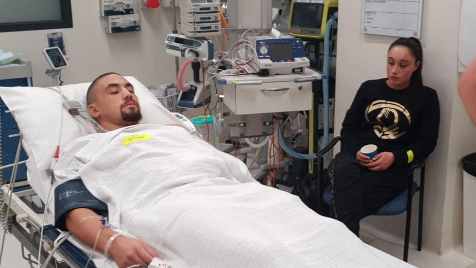 Whittaker Released From Hospital