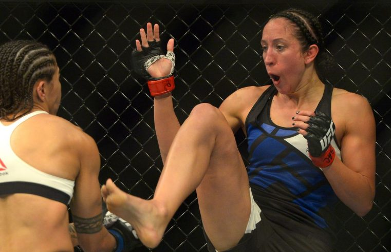 Jessica Penne Pulled From UFC Phoenix Card
