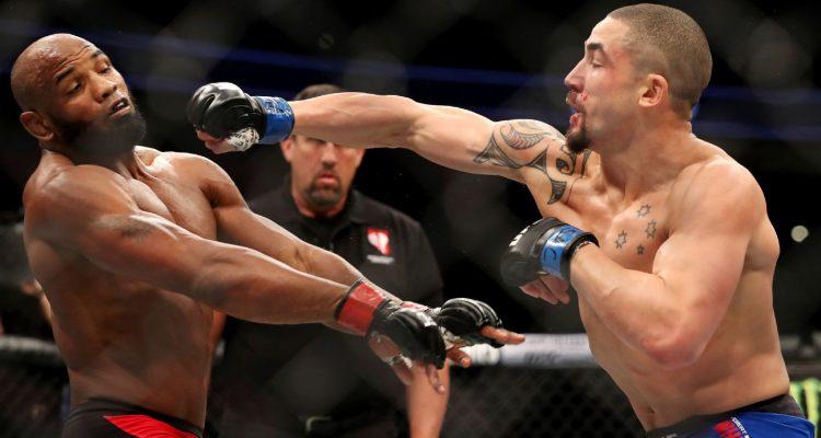 Robert UFC 213 Whittaker vs Yoel Romero