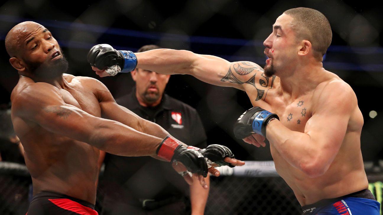 UFC: Robert Whittaker Is Finally Feeling Himself After Yoel Romero Bouts