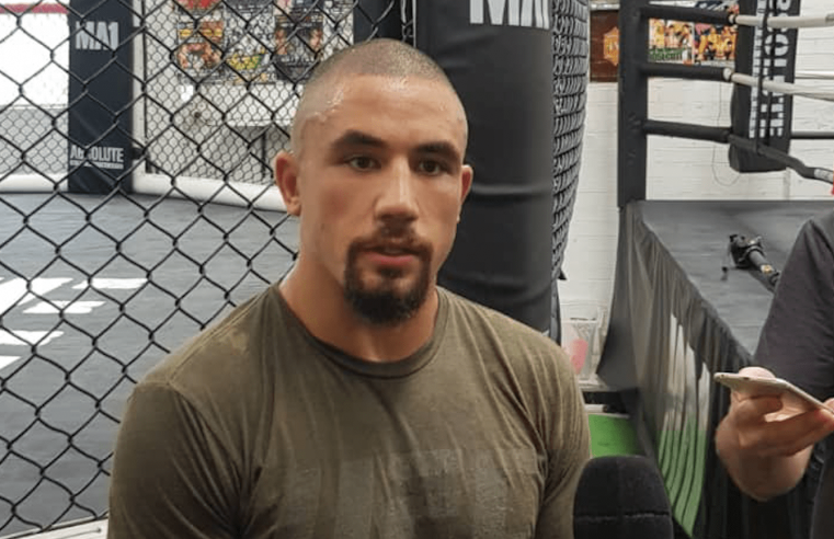 UFC: Robert Whittaker Finally Breaks Silence On Absence