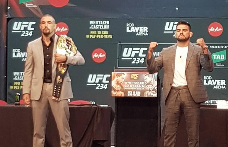 UFC 234 Pre-Fight Interviews