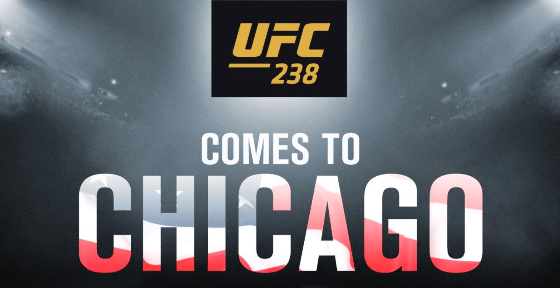 UFC 238 Heading To Chicago