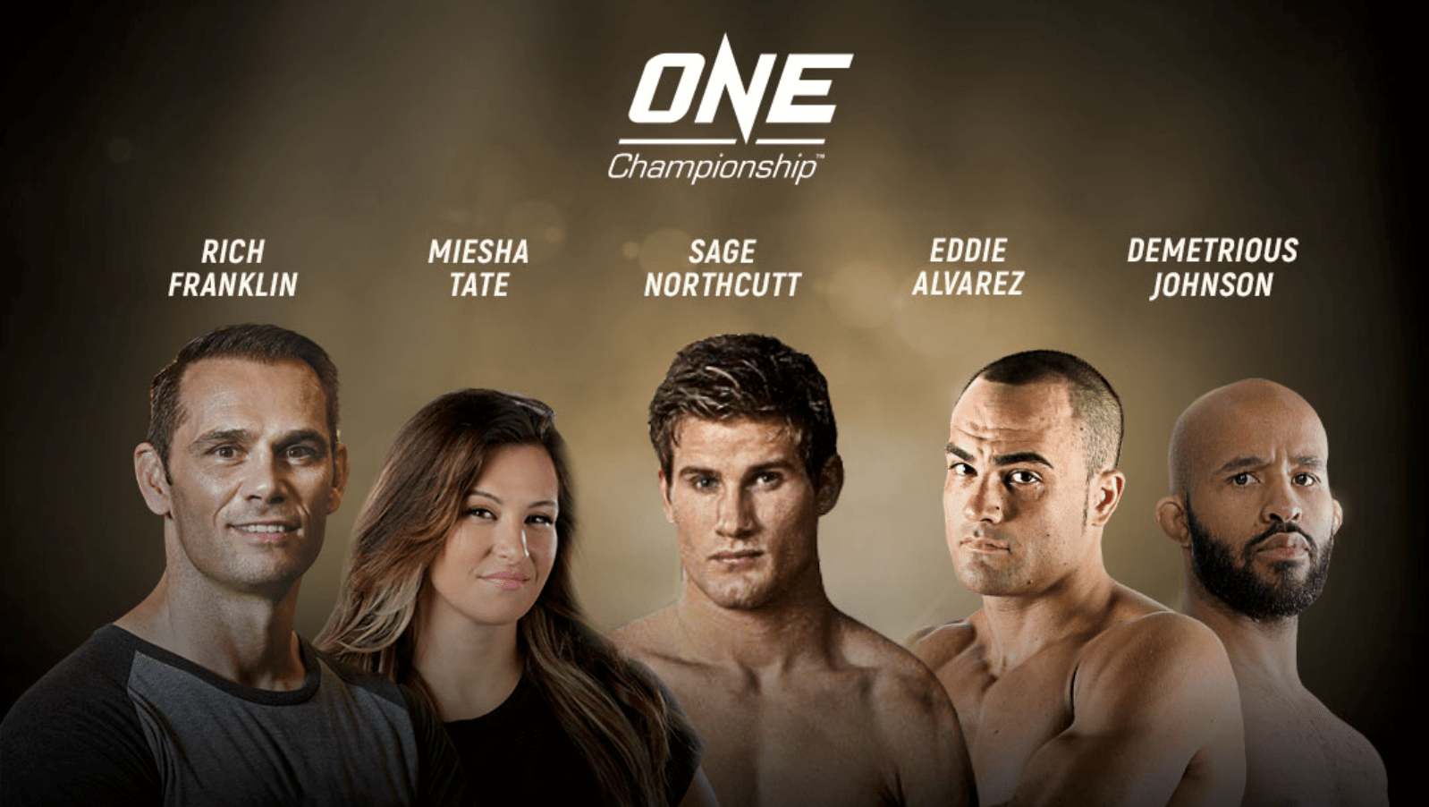 Rich Franklin And Miesha Tate To Join ONE US Tour