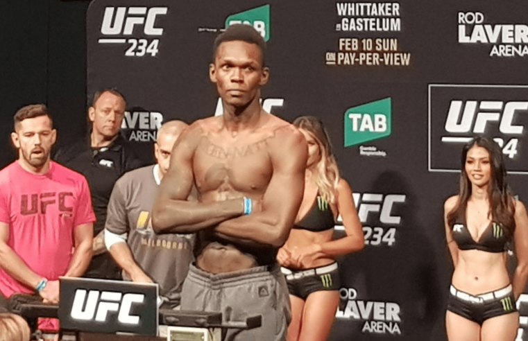 Israel Adesanya Invites Jon Jones To Fight Him In His Division