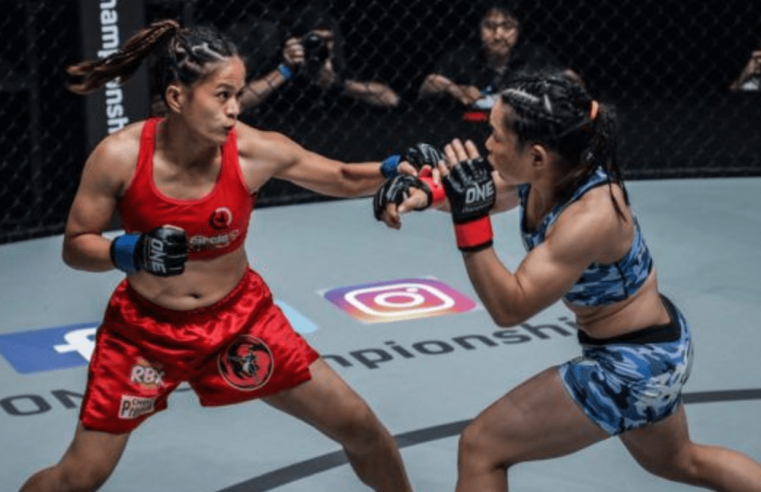 Gina Iniong Feeling Motivated Ahead Of ONE: Clash Of Legends