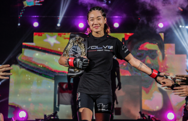 Angela Lee Says She Would Love To Fight Michelle Waterson