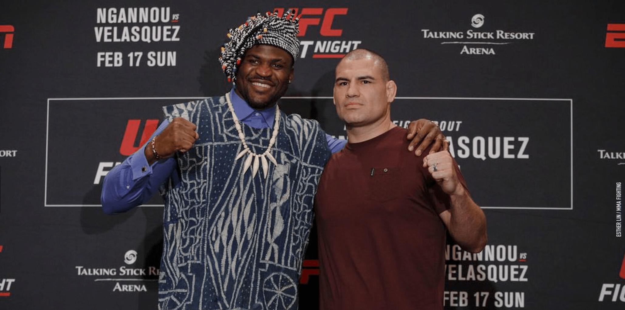 UFC Phoenix Weigh-In Results