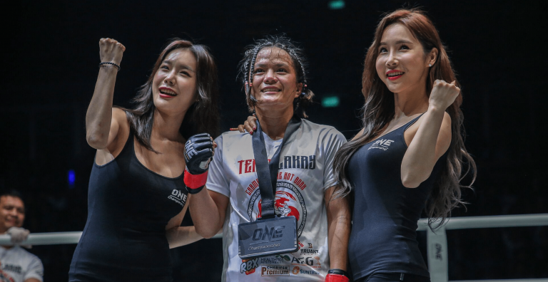 ONE Championship Team Lakay Gina Iniong