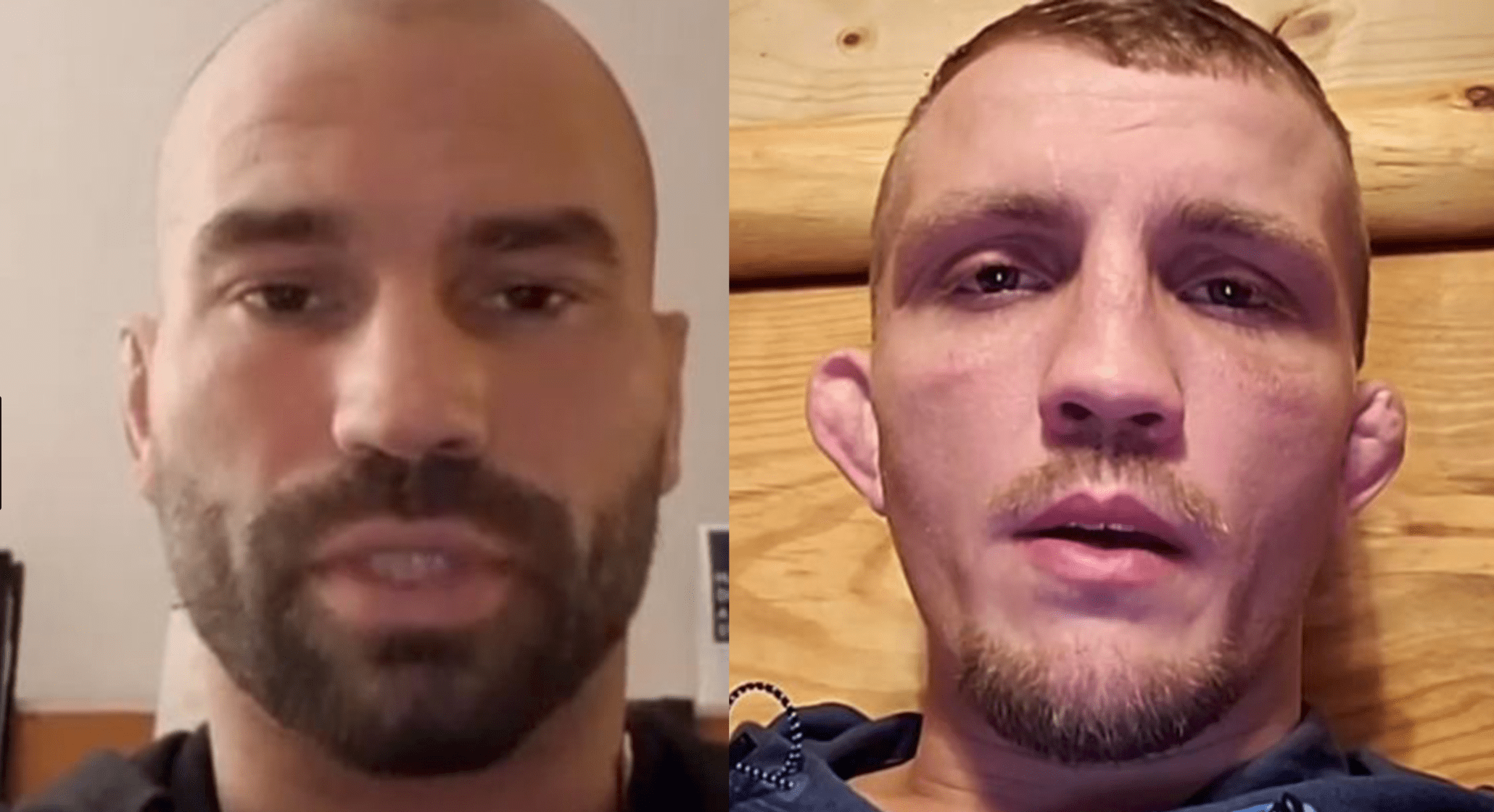 Artem Lobov And Jason Knight Have Heated Exchange