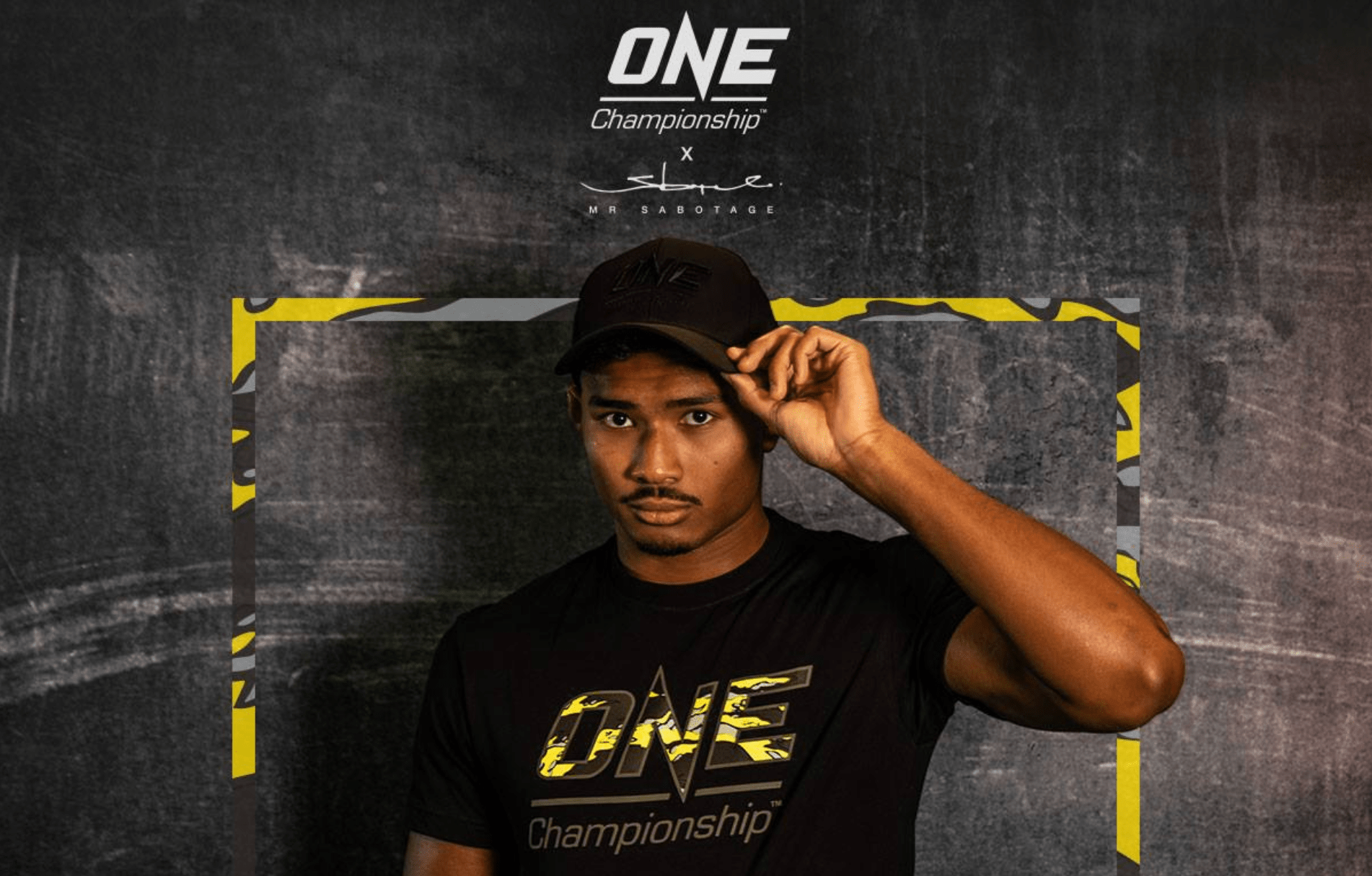 ONE Championship Collaborates With Streetwear Designer SBTG