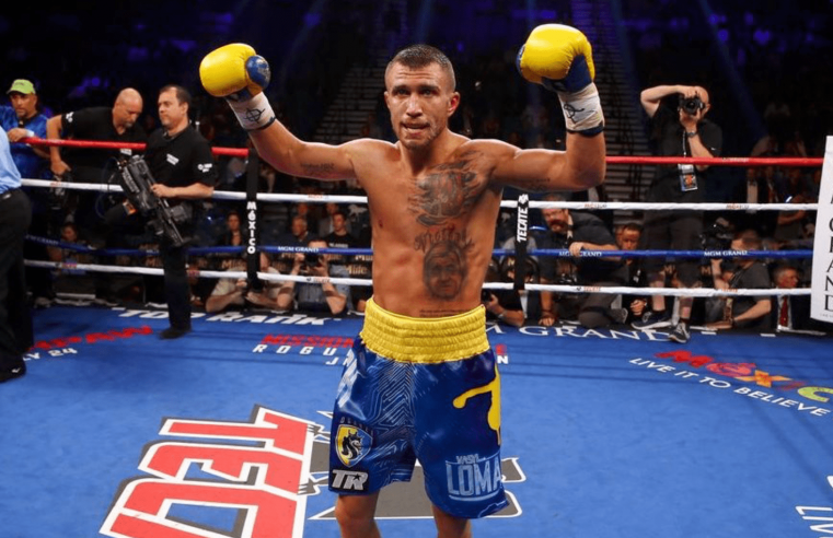 Vasyl Lomachenko Booked For First Title Defence Of 2019