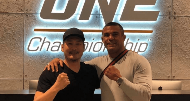 Vitor Belfort and Chatri Sityodtong