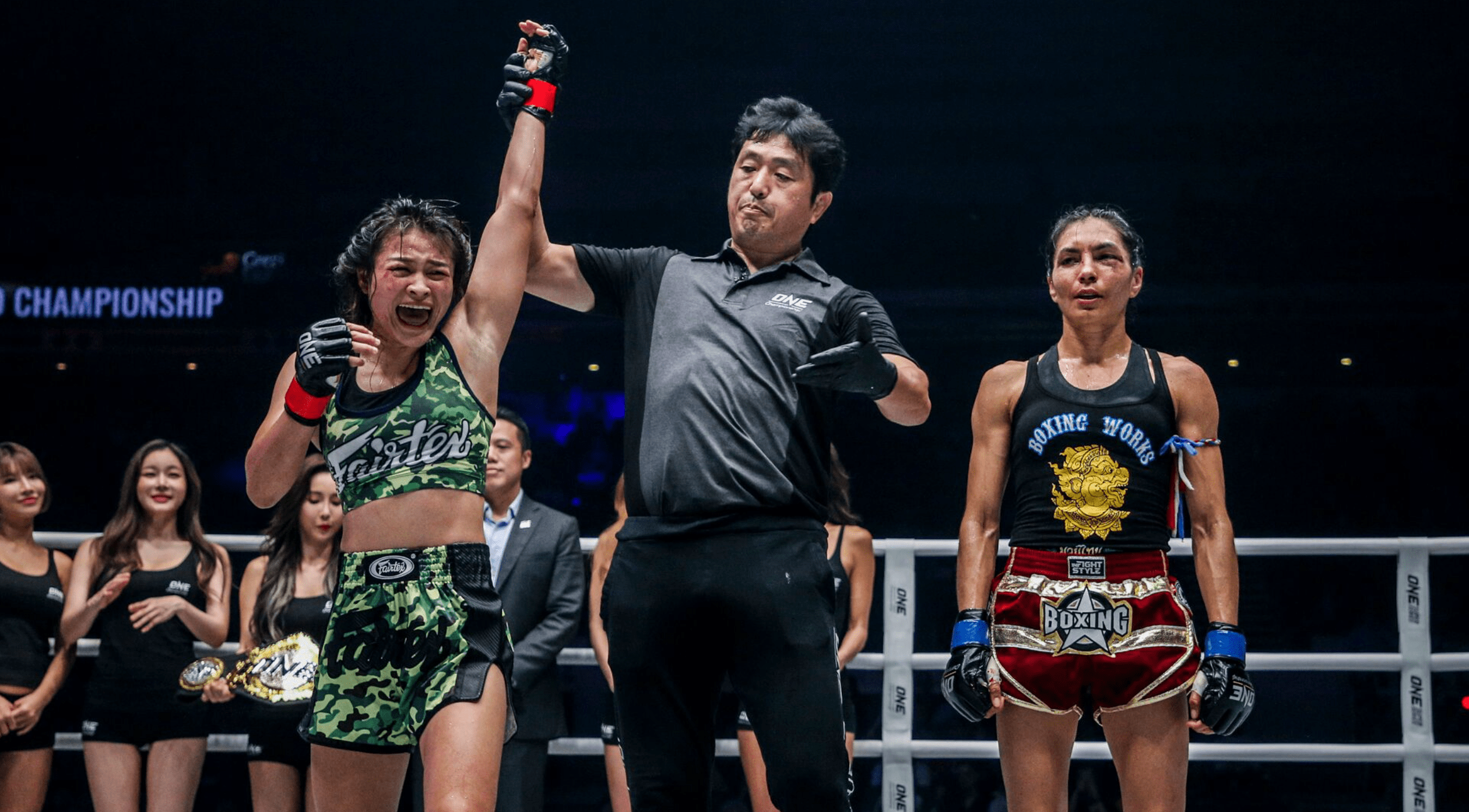 Stamp Fairtex Says Fans Can Expect A Exciting Bout With Bi Nguyen