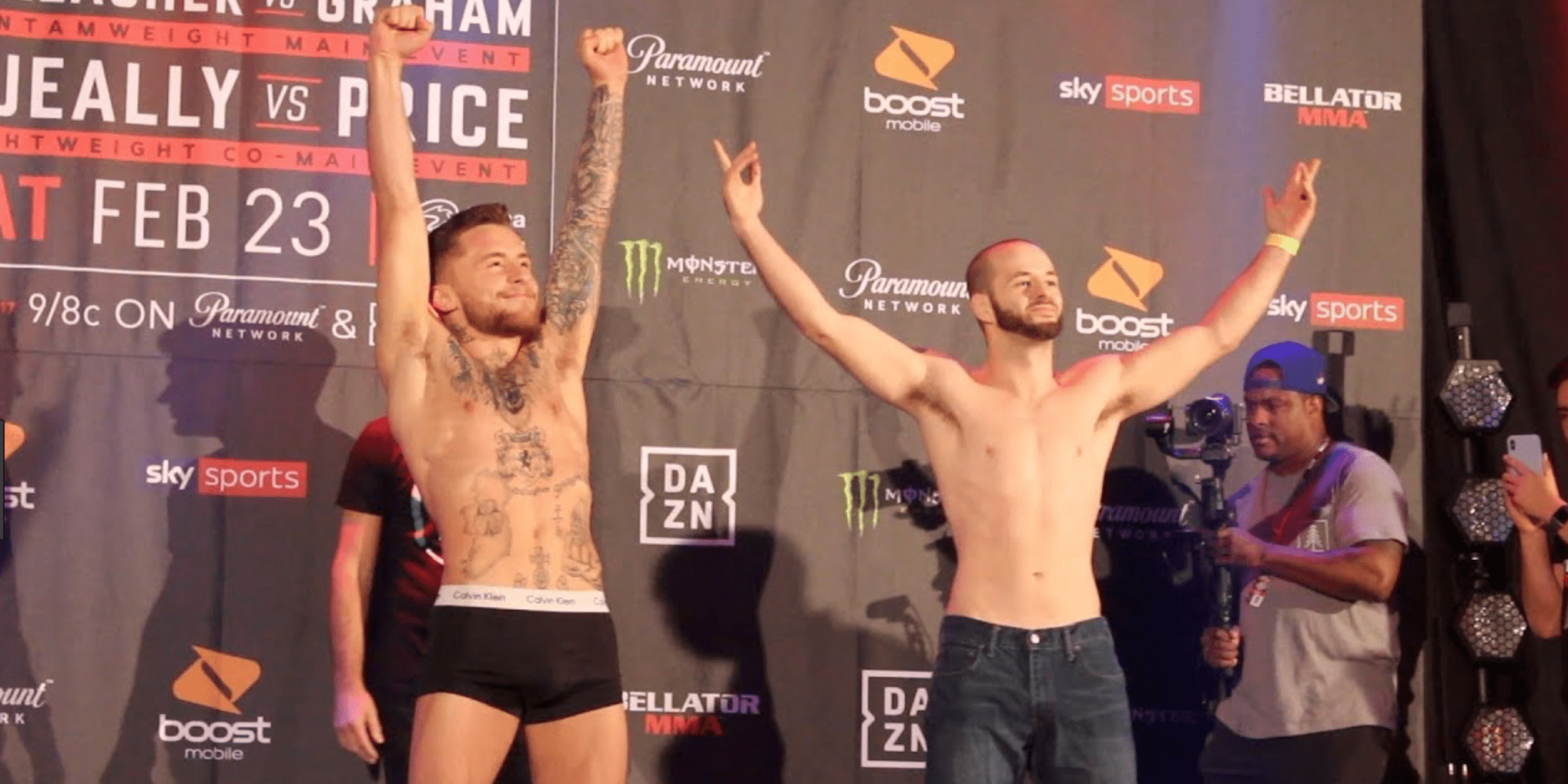 Bellator 217 Weigh-In Results And Video