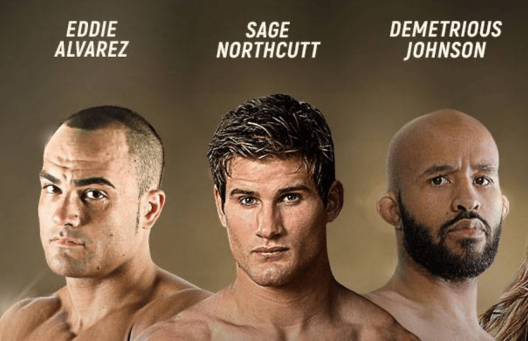 Johnson, Alvarez And Northcutt Interviews At ONE Open Workout In LA