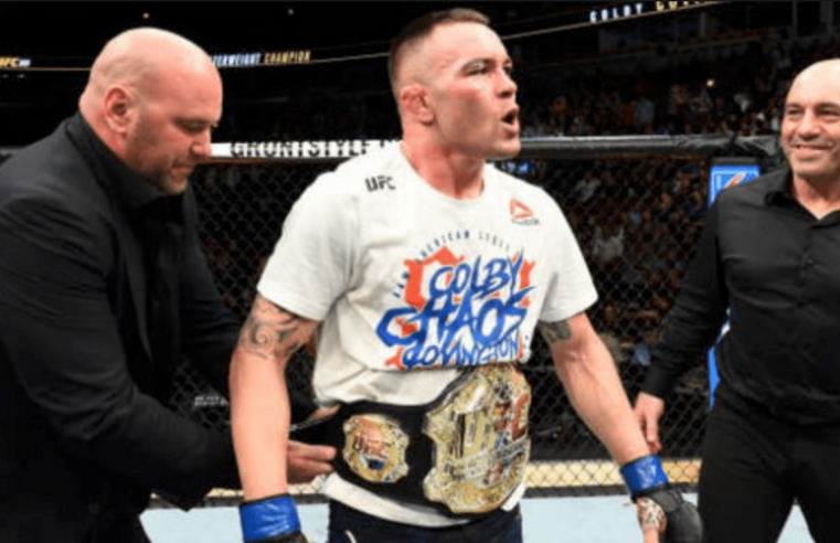Colby Covington And Dana White Discuss Their Interaction