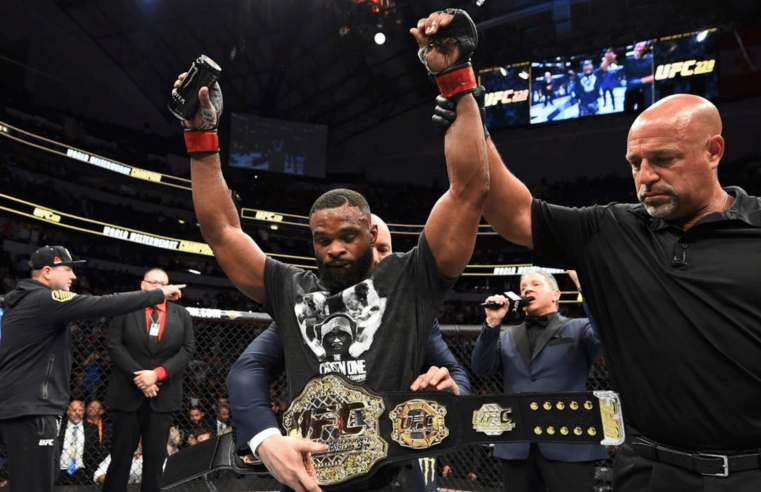Tyron Woodley: Usman's Only Chance Of Winning Is To Take Me Down