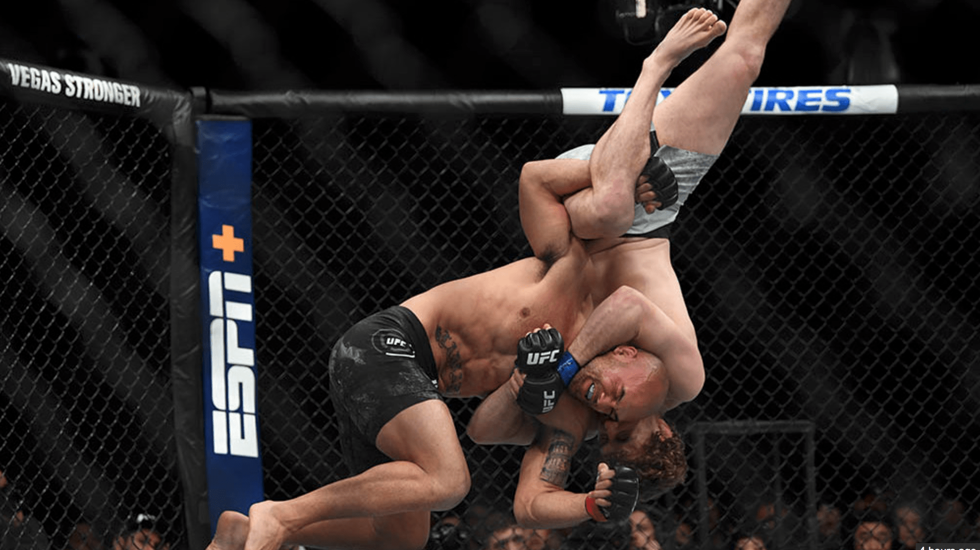 Robbie Lawler Reacts To Stoppage At UFC 235