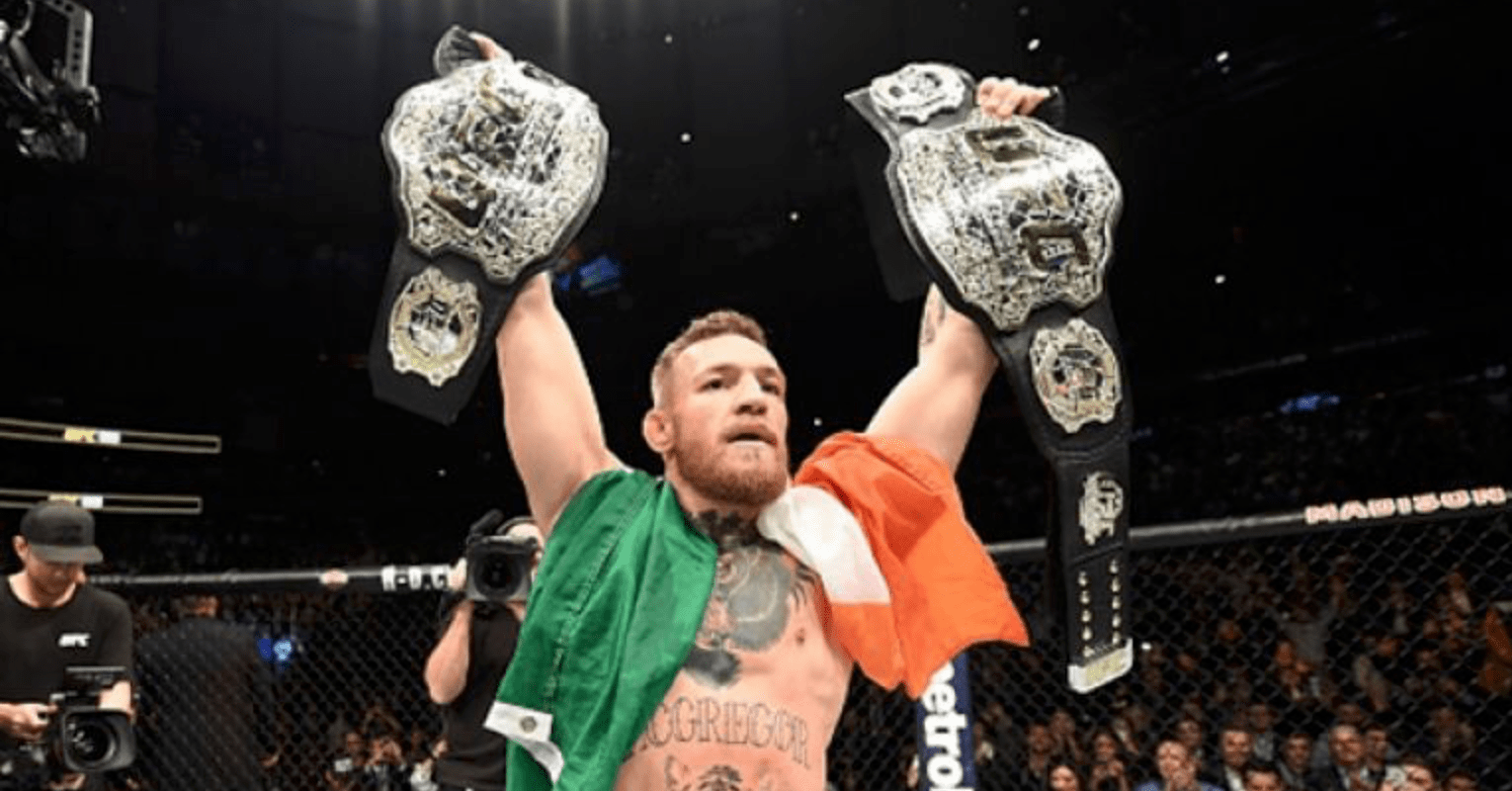 Conor McGregor Teases Working For WWE