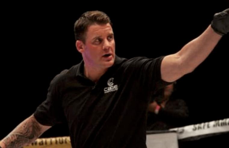 Referee Marc Goddard Issues Statement On Usman vs Woodley Fight