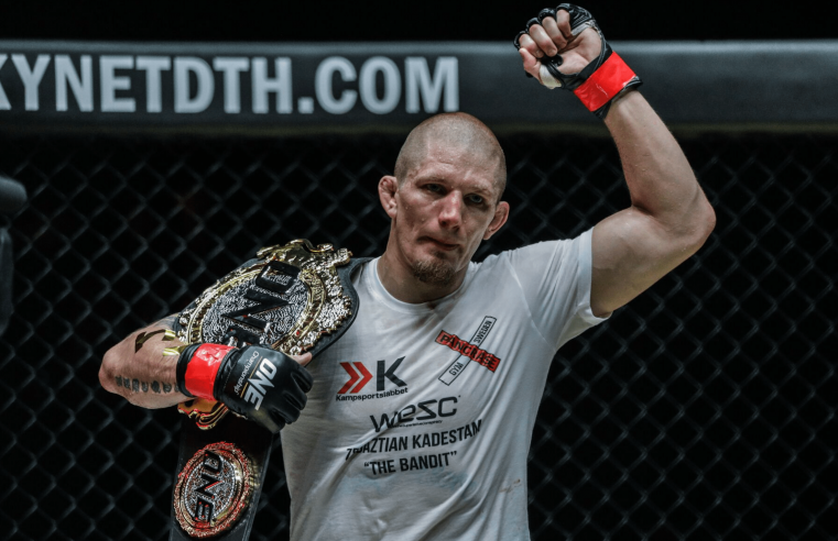 Zebaztian Kadestam Defends Welterweight Title At ONE: Reign Of Valor