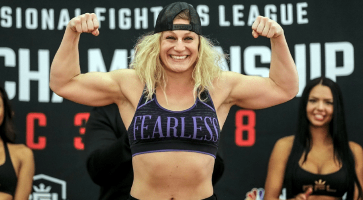 Kayla Harrison Gets A New Opponent For PFL 12