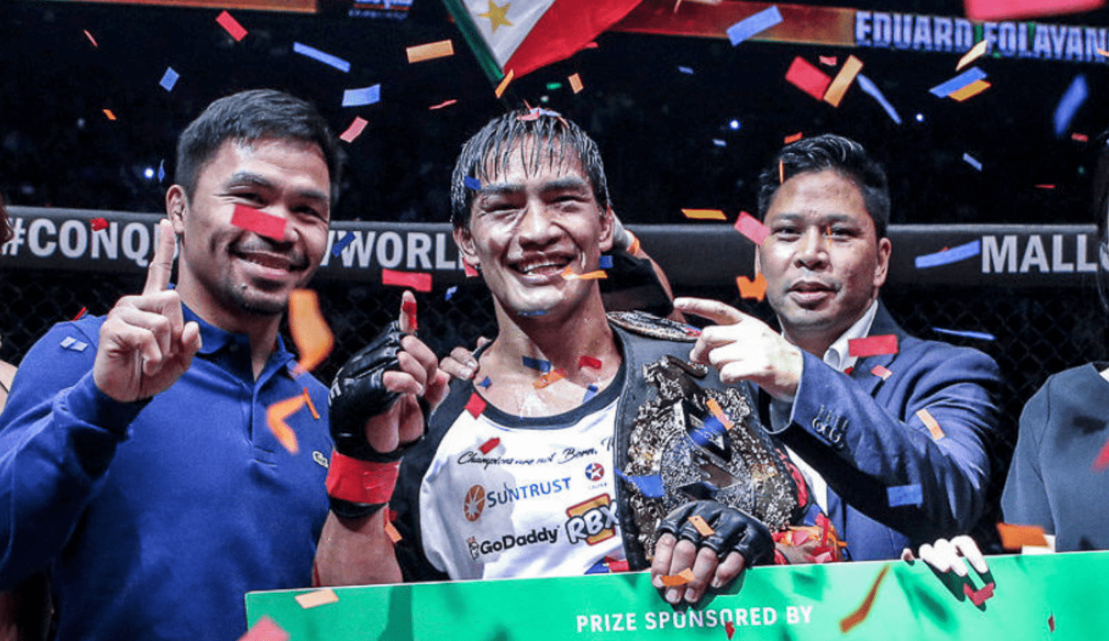 Folayang Won't Back Down Against Alvarez In Battle Of East vs West