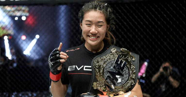 ONE Championship Angela Lee