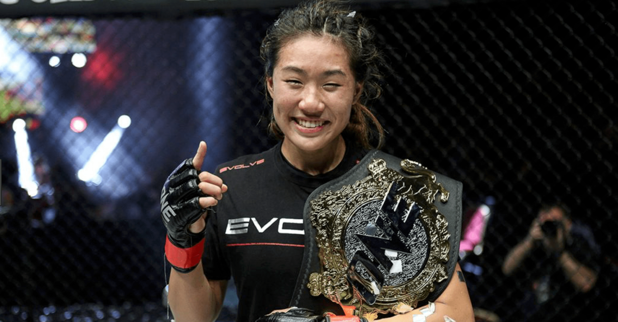 ONE Championship Angela Lee