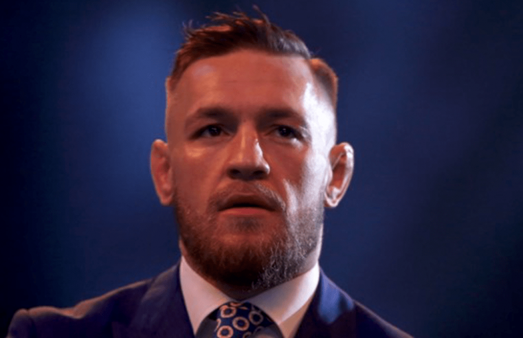Footage Released Of Conor McGregor Being Arrested Last Month