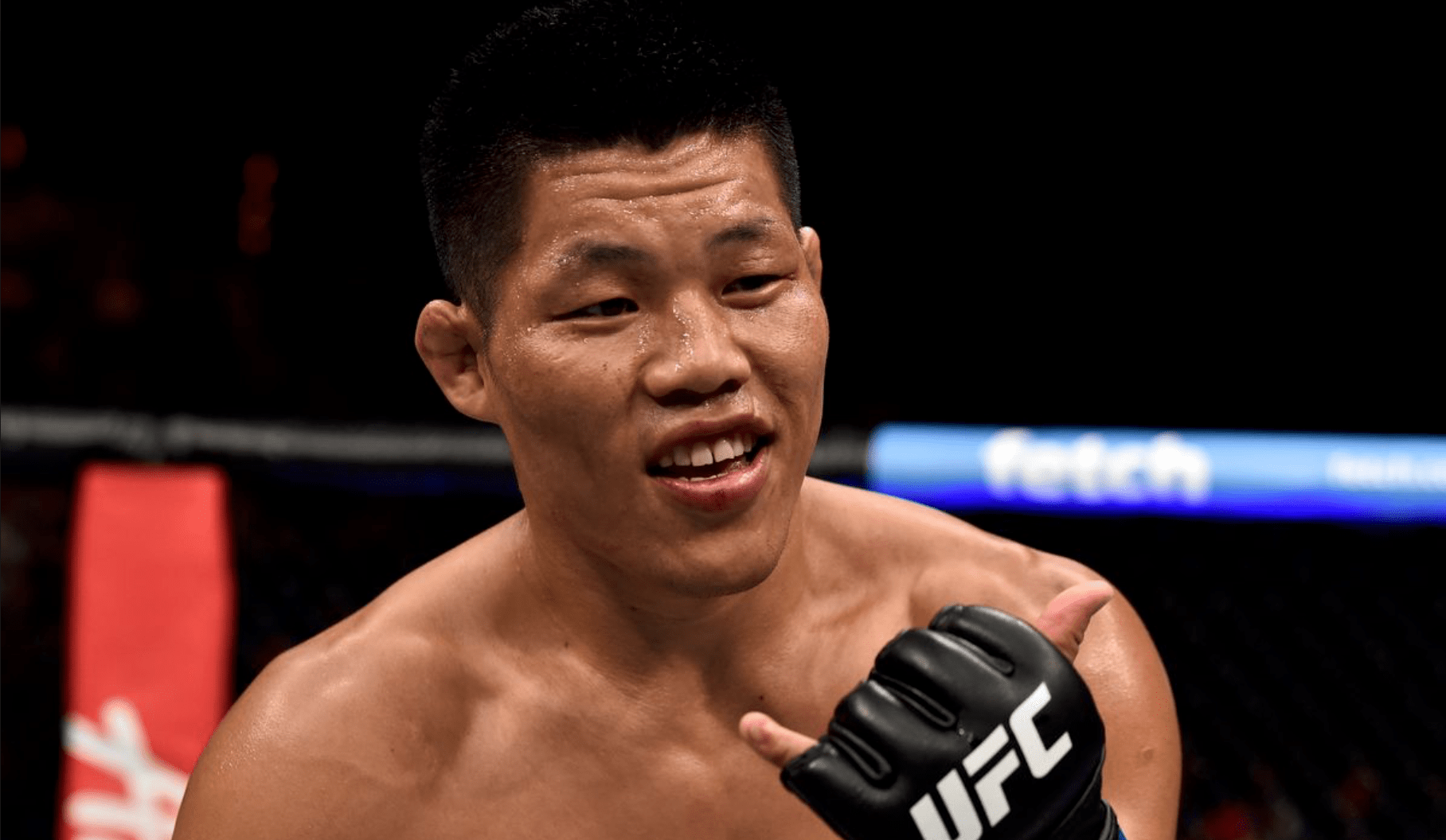 Li Jingliang Is Out Of UFC Fort Lauderdale Fight With Alex Oliveira