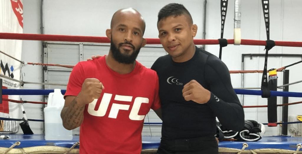 Demetrious Johnson and Bibiano Fernandes