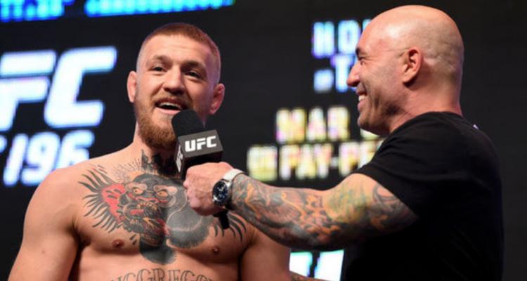 UFC Conor McGregor and Joe Rogan