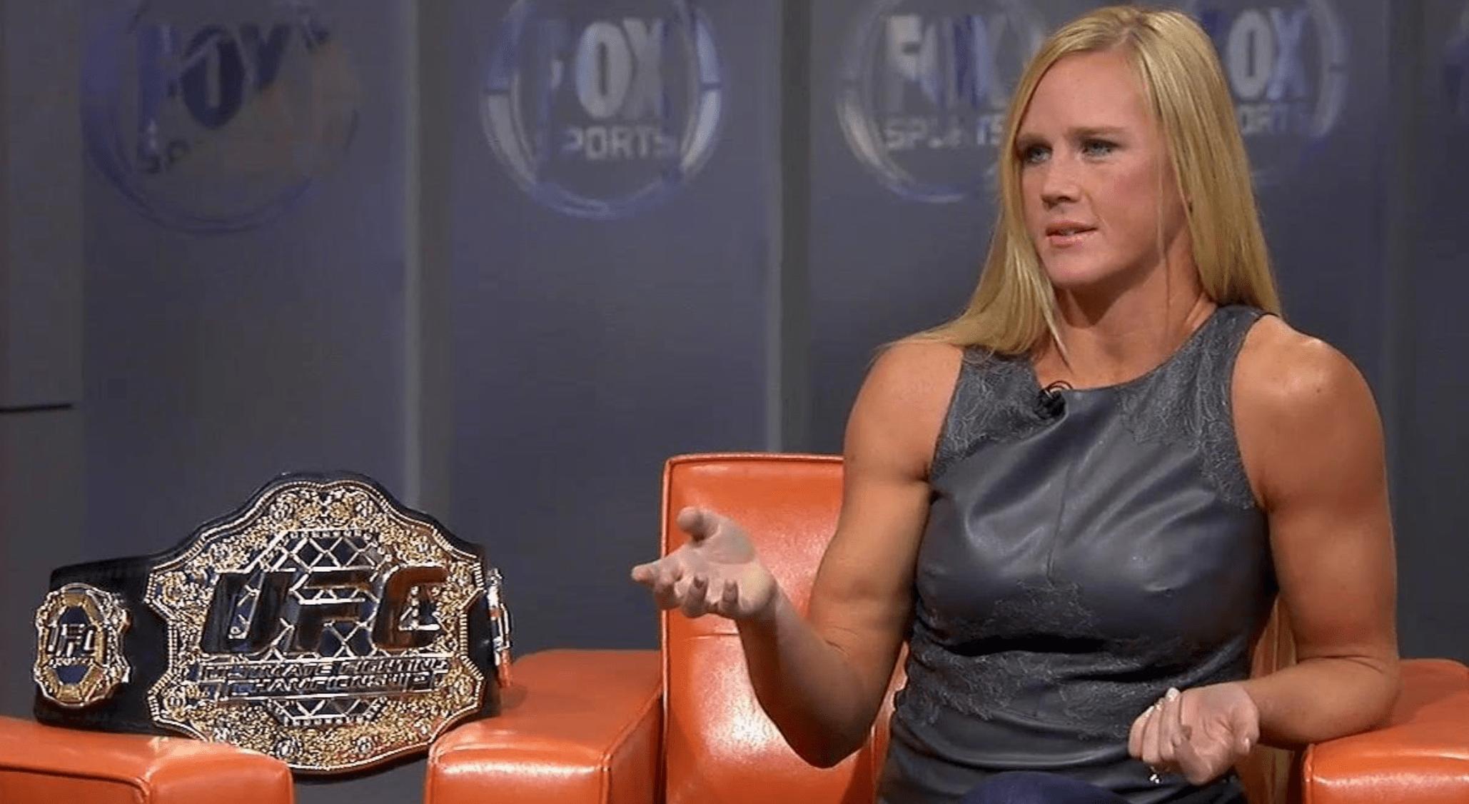 Holly Holm Signs New UFC Contract