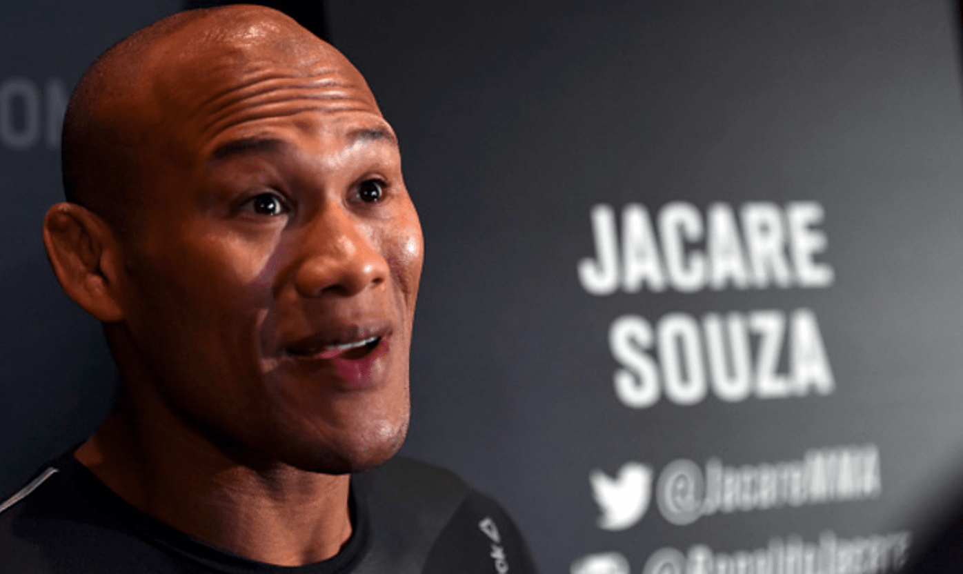 'Jacare' Souza Willing To Retire If Yoel Romero Win Doesn't Earn Title Shot